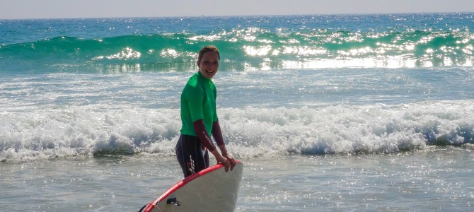 Surfing at Conil – May 2014